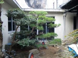 植栽のある駐車場 【O様邸】