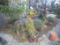 軽石を使ってアジアンティックな庭  A邸  廿日市市
