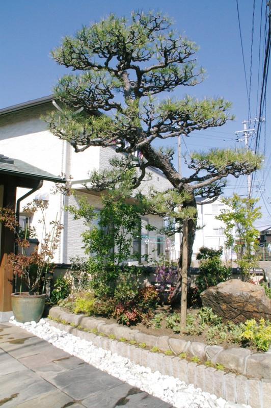 枯れてしまった植栽を新しくリ・ガーデン 【N様邸】