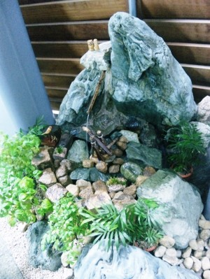 風水を活用した坪庭  広島市