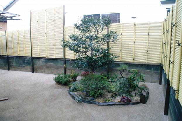 竹垣(御簾垣)