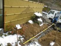 排水管の設置状況