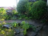 最近施工したお庭