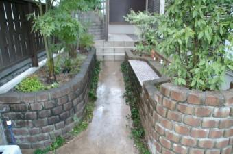 メンテナンスフリーを目指したお庭に 広島市 N邸
